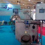 رو نمایی از درام فیلتر صنعتی ساخت شرکت ازن آب در نمایشگاه آب و فاضلاب مهر ۹۶