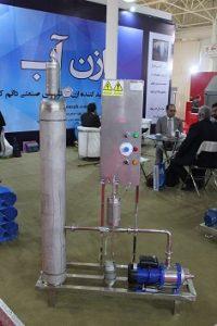 پکیج ازن هوا خنک ساخت شرکت ازن آب