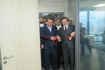 افتتاح مرکز تجاری ایران درباکو