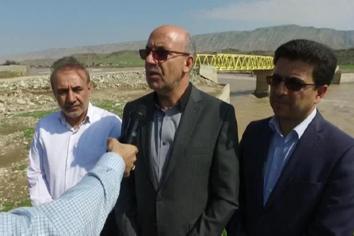بازدید دکتر میرزایی از مزارع پروش ماهی سیل زده استان لرستان