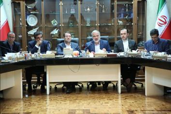 جلسه اجرای طرح های صنعتی و معدنی