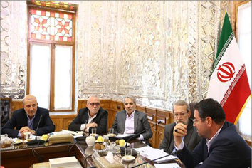 دیدار با رییس مجلس شورای اسلامی